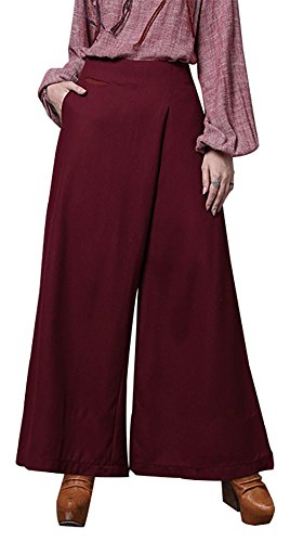 happy-lily-women-high-waist-wide-leg-asymmetric-long-palazzo-bell-bottom-yoga-pants-culotte-trousers