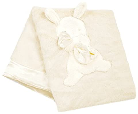 """Bunnies By The Bay My Blankie Blanket, Cream, 28"""" x 34"""" by Bunnies By The Bay (English Manual)"""