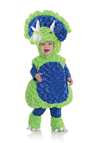 Underwraps Baby's Triceratops Belly, Green/Blue, ()