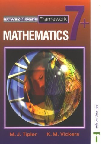 New National Framework Mathematics 7+: 7 Plus by Tipler, M J (2002) Paperback