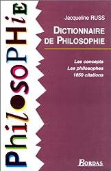 RUSS/DICT.DE PHILOSOPHIE    (Ancienne Edition)
