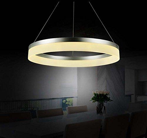 Eurohandisplay 6053-40cm 1 Ring Neutralweiß, Höhenverstellbar Luxus Design A+. Sparsam (6053-40cm)