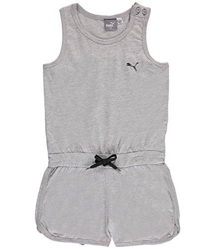 M?dchen Strampler Ein St¨¹ck Playwear Outfit -Light Heat Grau-4 (Mädchen Active Outfits)