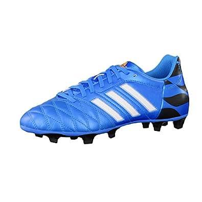 scarpe da calcio ADIDAS 11 QUESTRA FG LEA (39 1/3, BLU)