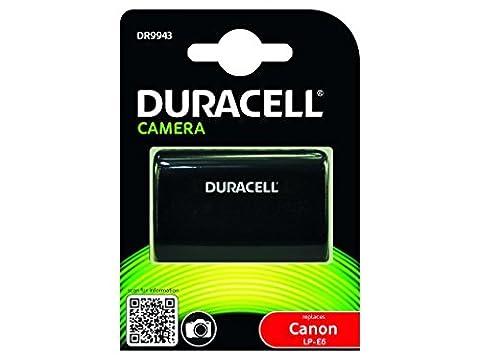 Duracell DR9943 Batterie pour Appareil Photo Numérique Canon LP-E6