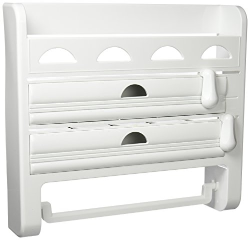 Toyma- ref: 555 Kitchen Roll Holder with Spice Rack