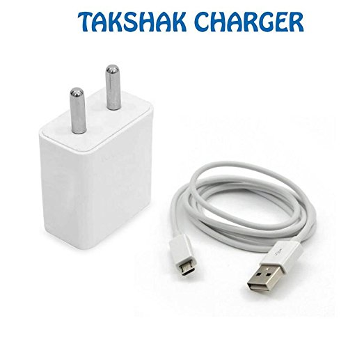 Takshak Xiaomi Mi Note Pro Compatible 1.5Amp High Speed Universal Charger USB Power Adapter,Wall Charger Adapter With Android Micro USB Cable For fast Charging & Data Transfer,Wall Charger,Travel Charger.