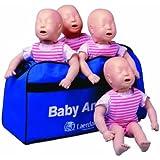 Laerdal - Muñecos para prácticas de reanimación (4 unidades), diseño de bebé de piel clara
