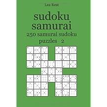 sudoku samurai: 250 samurai sudoku puzzles 2