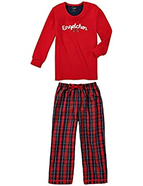 Schiesser Mädchen Zweiteiliger Schlafanzug Mädchen Anzug Lang