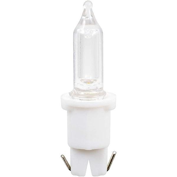 3V LED Ersatzbirne 0.06W wei/ße Steckfassung 5063-132 warm wei/ß Konstsmide 3er-Blister