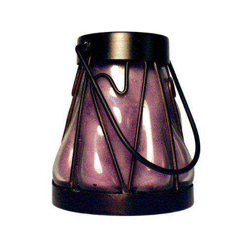 A Cheerful Giver-Lanterna A forma di cuore, colore: lavanda, vaniglia-Candela