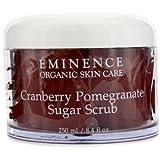 Eminence Cranberry Pomegranate Sugar Scrub, 8.4 Ounce by Eminence Organic Skin Care