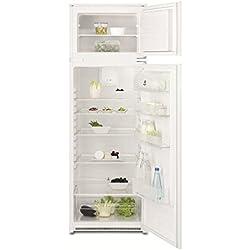 Electrolux EJN2710AOW Intégré 268L A+ Blanc réfrigérateur-congélateur - Réfrigérateurs-congélateurs (268 L, SN-T, 36 dB, 4 kg/24h, A+, Blanc)