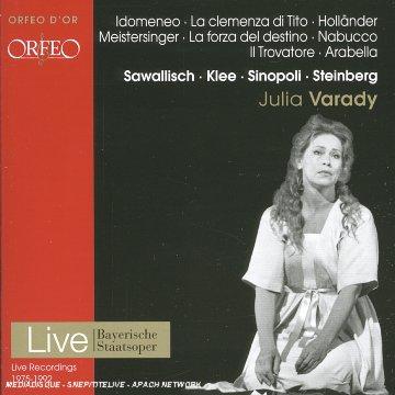 Julia Varady - Scènes d'Opéras (Idomeneo · La clemenza di Tito · Holländer · Meistersinger · La forza del destino · Nabucco · Il Trovatore · Arabella)