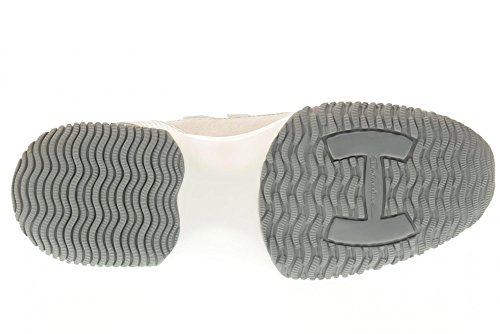 HOGAN chaussures baskets bas HXW00N03242FOQ09B2 INTERACTIVE Argent