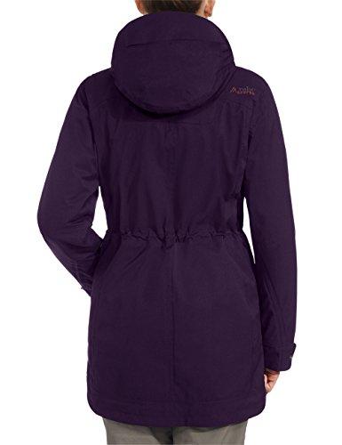 maier sports Damen Outdoor Doppelmantel BIlle Potent Purple