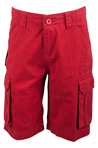Mountain-Warehouse-Cargo-Kids-Multi-Pockets-100-Twill-Cotton-Sporty-Outdoor-Shorts