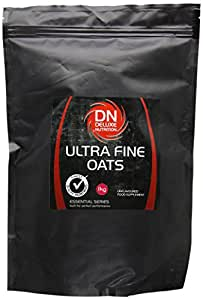 Deluxe Nutrition 1Kg Ultra Fine Oats with Resealable Pouch