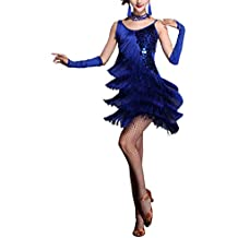new products 4e6f4 65305 vestiti da ballo - Blu - Amazon.it