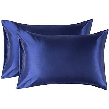 Bedsure Pillowcase Set Satin Pillowcases For Hair And Skin