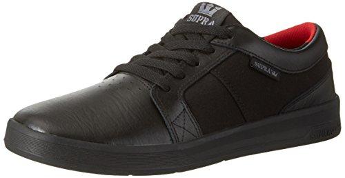 ow-Top, Schwarz (Black-Black), 44.5 EU (Supra Schuhe Classic)