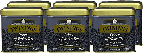 Twinings Prince of Wales Dose 100g, 6er Pack (6 x 100 g)