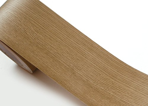Peel & Stick Grenze Aufkleber Esche Holz Muster Kontakt Papier selbstklebend abnehmbarer Bordüre Rolle kw134-b: 10cm von 1,64Feet (Peel Und Stick Holz Wallpaper)