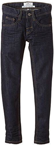 TOM TAILOR Kids Jungen Jeans raw denim tom slim/407, Einfarbig, Gr. 176, Blau (rinsed blue denim 1100)