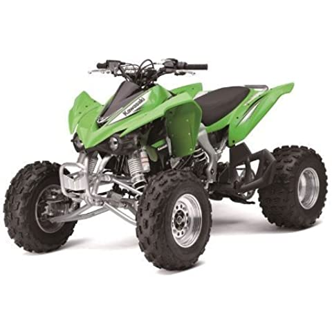 1/12 KAWASAKI KFX 450R ATV (GREEN), Manufacturer: NEW RAY, Part Number: 370051-AD, VPN: 57503-AD, Condition: New by NEW RAY