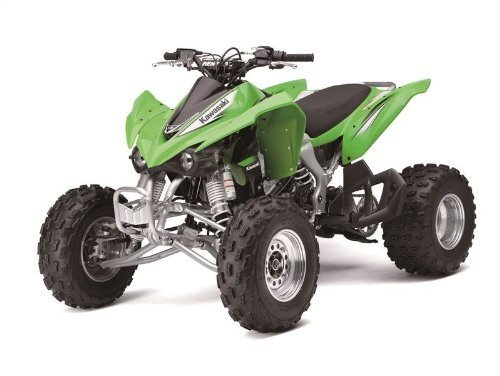 1/12 KAWASAKI KFX 450R ATV (GREEN), Manufacturer: NEW RAY, Part Number: 370051-AD, VPN: 57503-AD, Condition: New by New Ray Toys
