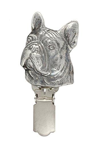 French Bulldog, Hund, Hund clipring, Hundeausstellung Ringclip/Rufnummerninhaber, limitierte Auflage, Artdog - 3