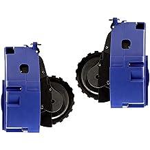 SM SunniMix 2 Piezas Módulos de Ruedas Piezas de Repuestos Adecuado para Irobot Roomba Serie 600