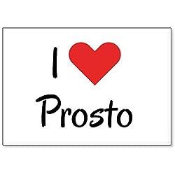 Mundus Souvenirs - J'adore Prosto, Aimant de réfrigérateur (désign 3)