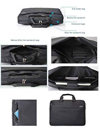 ShengTS Shoulder Bag 17 Inch Laptop Bag Fits Laptop up to