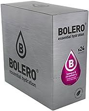 Bolero Bebida Instantánea sin Azúcar, Sabor Plátano y Fresa - Paquete de 24 x 9 gr - Total: 216 gr