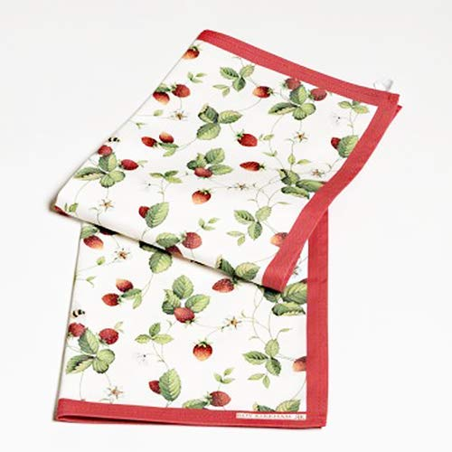 Roy Kirkham Alpine Strawberry Packung mit 2 Geschirrtücher Roy Kirkham Alpine Strawberry