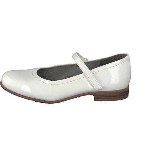 indigo by Clarks 424 079, Ballerines fille white