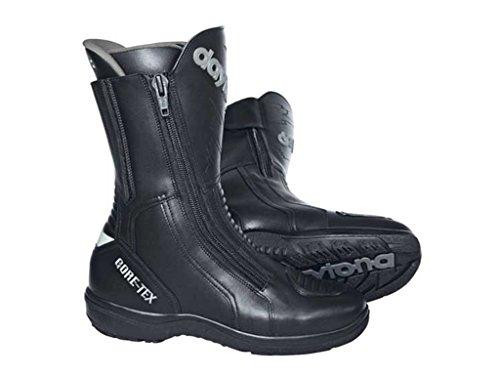Daytona ROAD STAR GTX Herren Motorradstiefel Leder - schwarz Größe 49