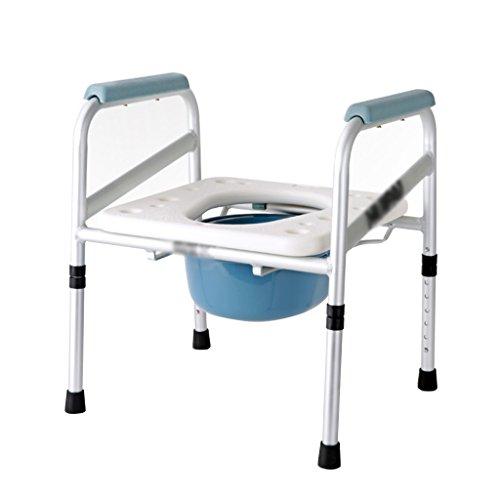 Toilette Pliante pour Les Femmes Enceintes âgées Commode Chaise pour Les Toilettes des Personnes âgées Toilette siège de Toilettes Toilette