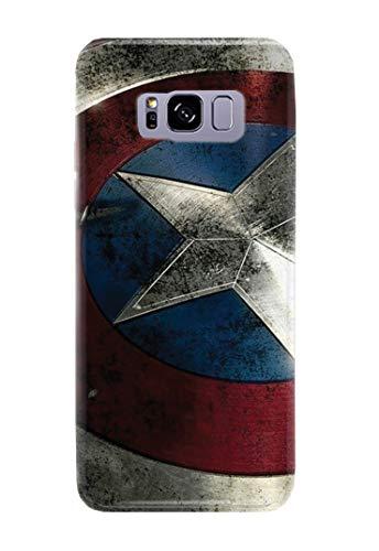 lle für Samsung Galaxy S8 Captain America Steve Rogers Superhero Marvel Comics 9 Designs ()