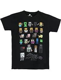 Minecraft - T-Shirt à Manches Courtes - Garçon