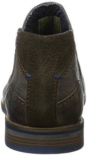 bugatti Herren 312173313200 Chelsea Boots Grau (Grey)