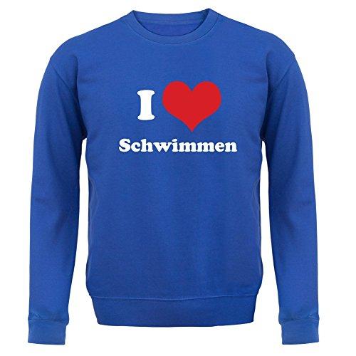 - Unisex Pullover/Sweatshirt - Royalblau - XXL (Ping Pong Kostüm)