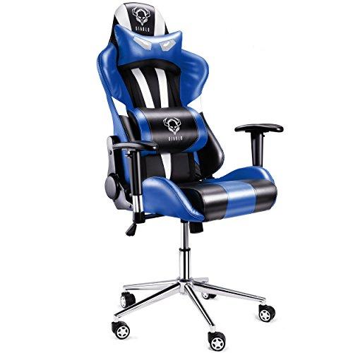 Diablo X-Eye Fauteuil Gamer, Chaise de Bureau avec accoudoirs, Siège Gaming