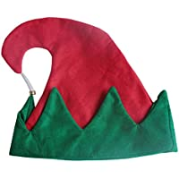 HEJIANGTAO Navidad bebé Elfo Adulto Lindo con Campana Sombrero de Payaso Rendimiento cálido Confort Felpa, Campana Sombrero de Payaso