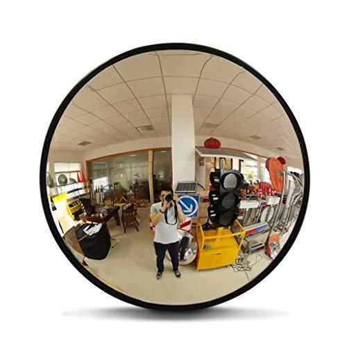 Indoor-Shop-Sicherheitsspiegel, Durchmesser 45 cm Klares Bild für Die Verkehrssicherheit Und Shop-Sicherheit mit Verstellbarer Wand Befestigungswinkel - Toten Bild Die