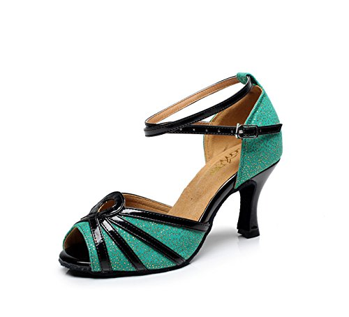 JSHOE Chaussures De Danse Latine Pour Femmes Salsa / Tango / Chacha / Samba / Moderne / Jazz Danse Sandales Talons Hauts Chaussures De Danse