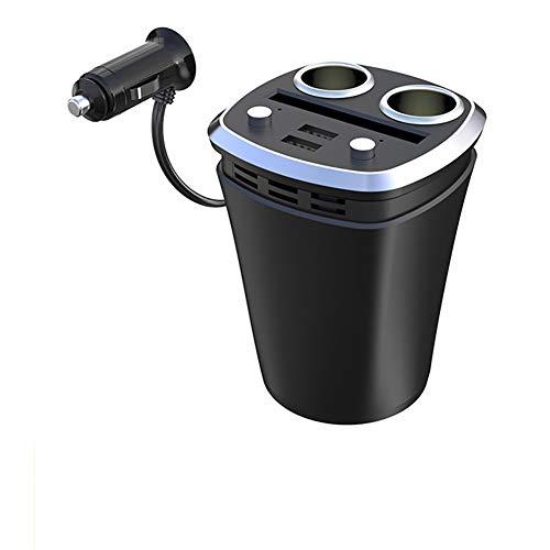 XLKP888 Auto-Ladegerät eins für Zwei mit USB-Zigarettenanzünder Multifunktions-Tasse Auto-Zigarettenanzünder,B Htc Dash