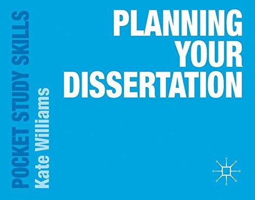 Planning Your Dissertation (Pocket Study Skills)